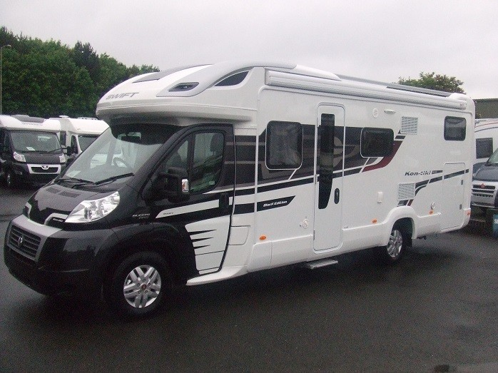 Motorhome Swift Kon Tiki 635 Quot Black Edition Quot Moran